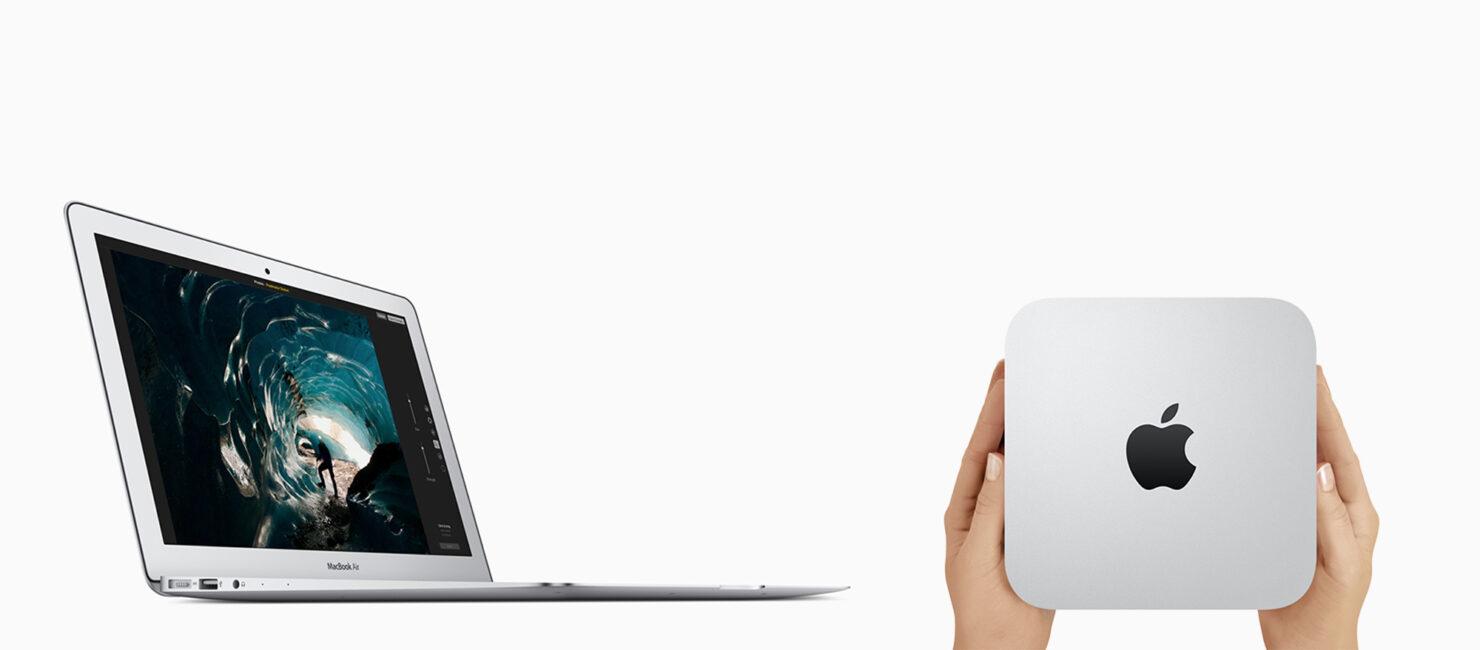 MacBook Air Retina display refresh with Mac mini