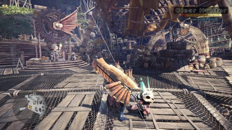Monster Hunter World Clear Hunter Mod 1
