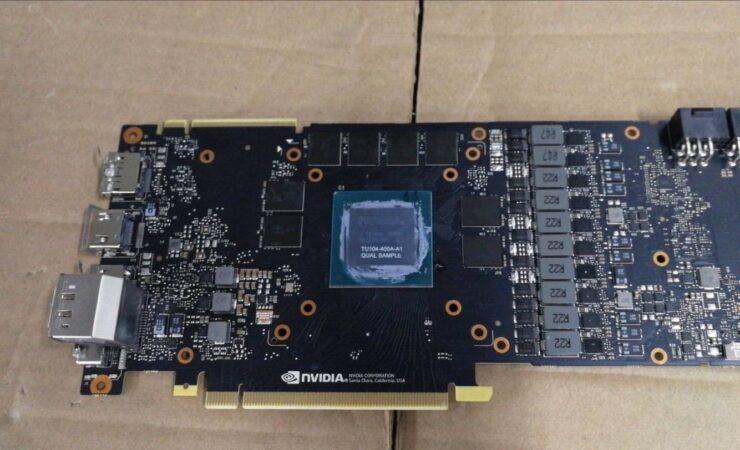 NVIDIA GeForce RTX 2080 Turing GPU