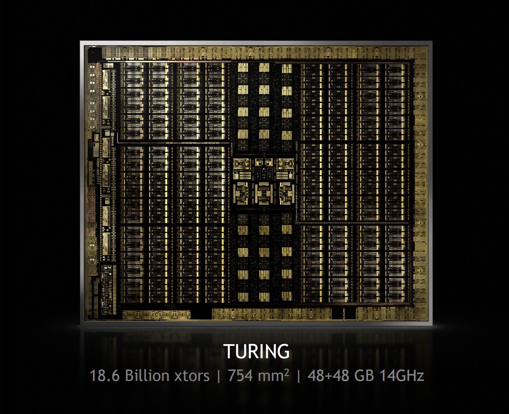 NVIDIA GeForce RTX 2080 Ti Turing TU102 GPU Die Pictured, It's Huge