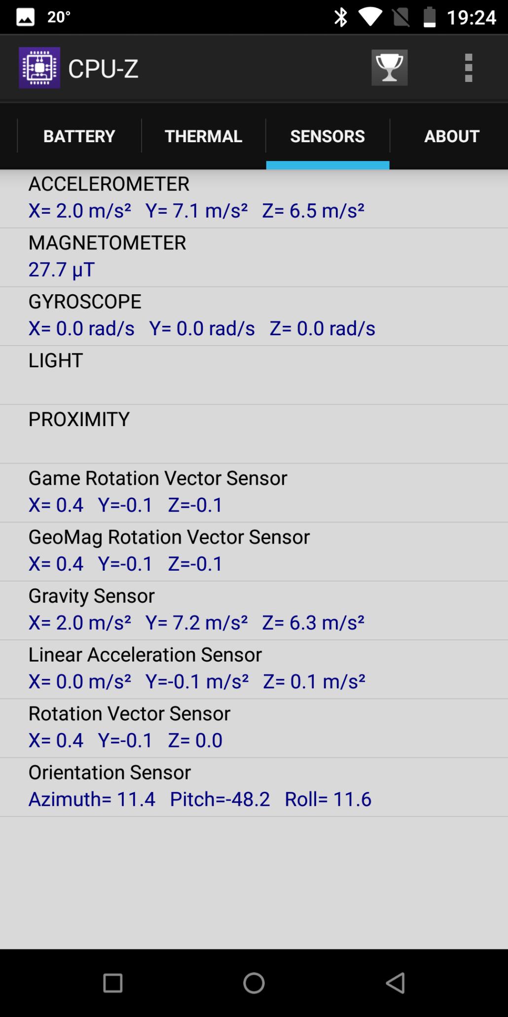 oukitel-k7-phone-review-02-part-6-cpuz-sensors