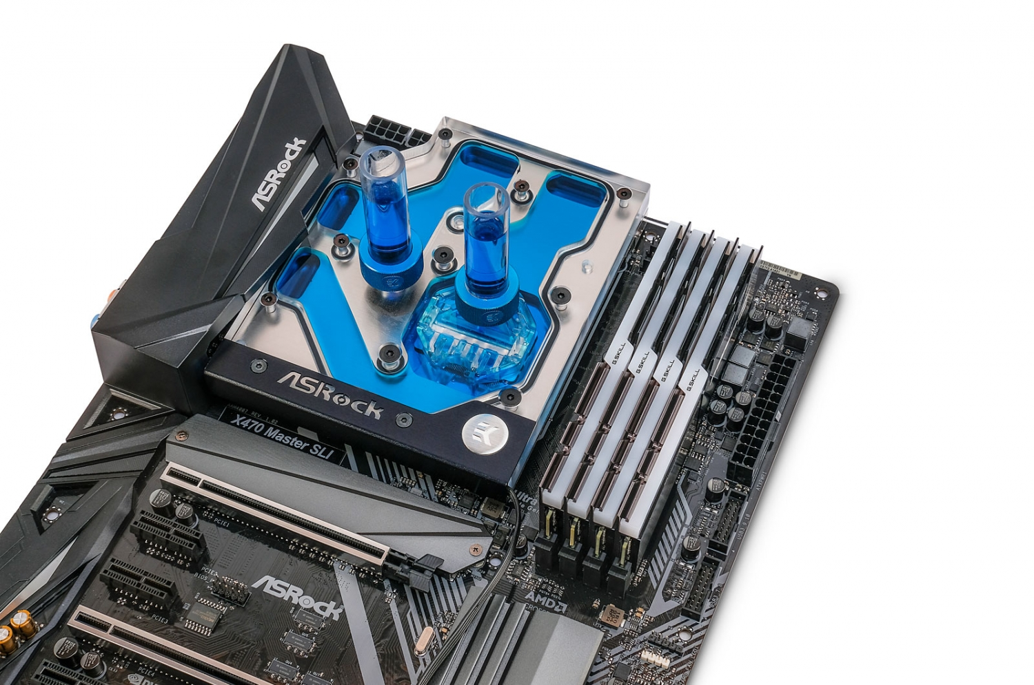 EK Releases New AM4 Monoblock For ASRock Fatal1ty X470