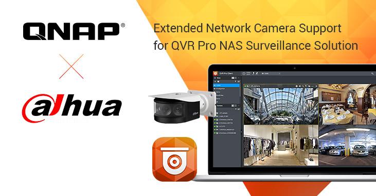 QNAP Extends Surveilance Intergration Scale with Dahua
