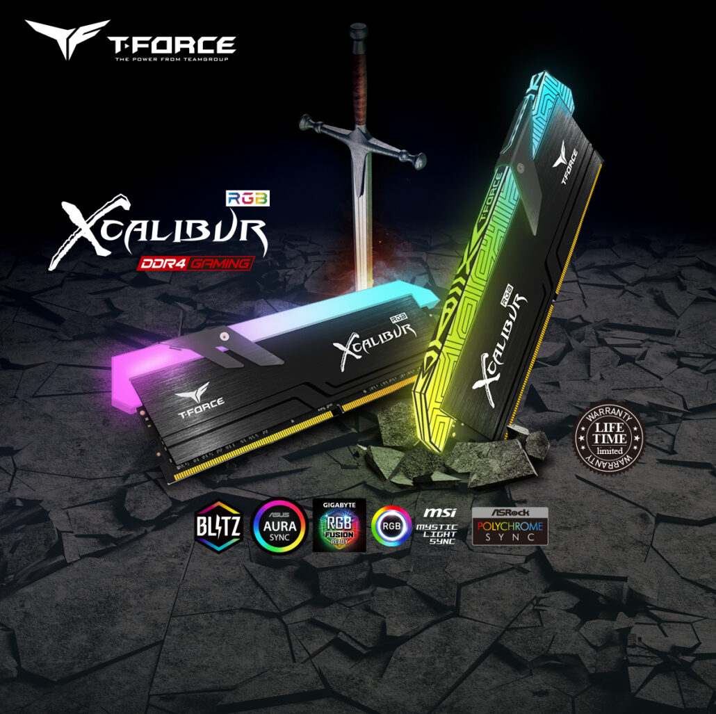 Teamgroup XCALIBUR RGB 16 GB 3600 MHz CL18 DDR4 Memory Kit Review
