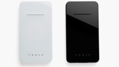 Tesla Wireless Charger Also Doubles as a Powerbank With a Sleek Form Factor for Additional Portability