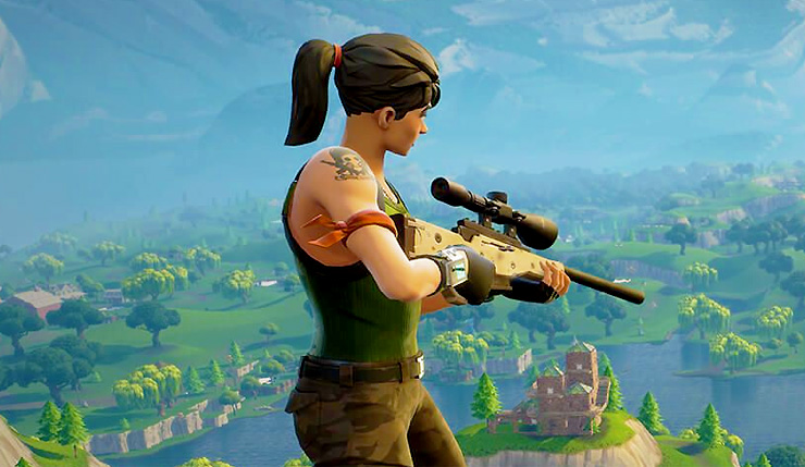 Fortnite Update Adds Heavy Sniper Rifle New Hero Two Limited Time