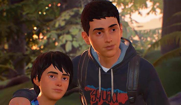 Sean com o seu irmão capetinha conhecido também por Daniel