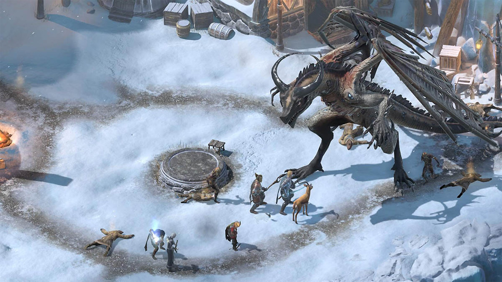 "Pillars Of Eternity Background: Pillars Of Eternity II: Deadfire ""Beast Of Winter"" DLC"