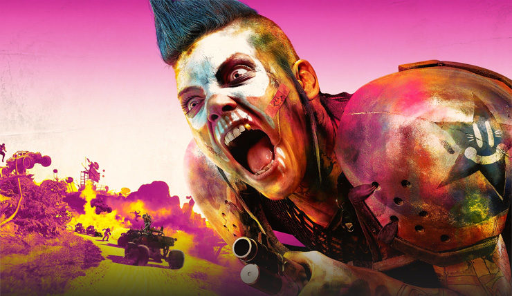 Rage 2 1080p xbox one x ps4 pro 60fps