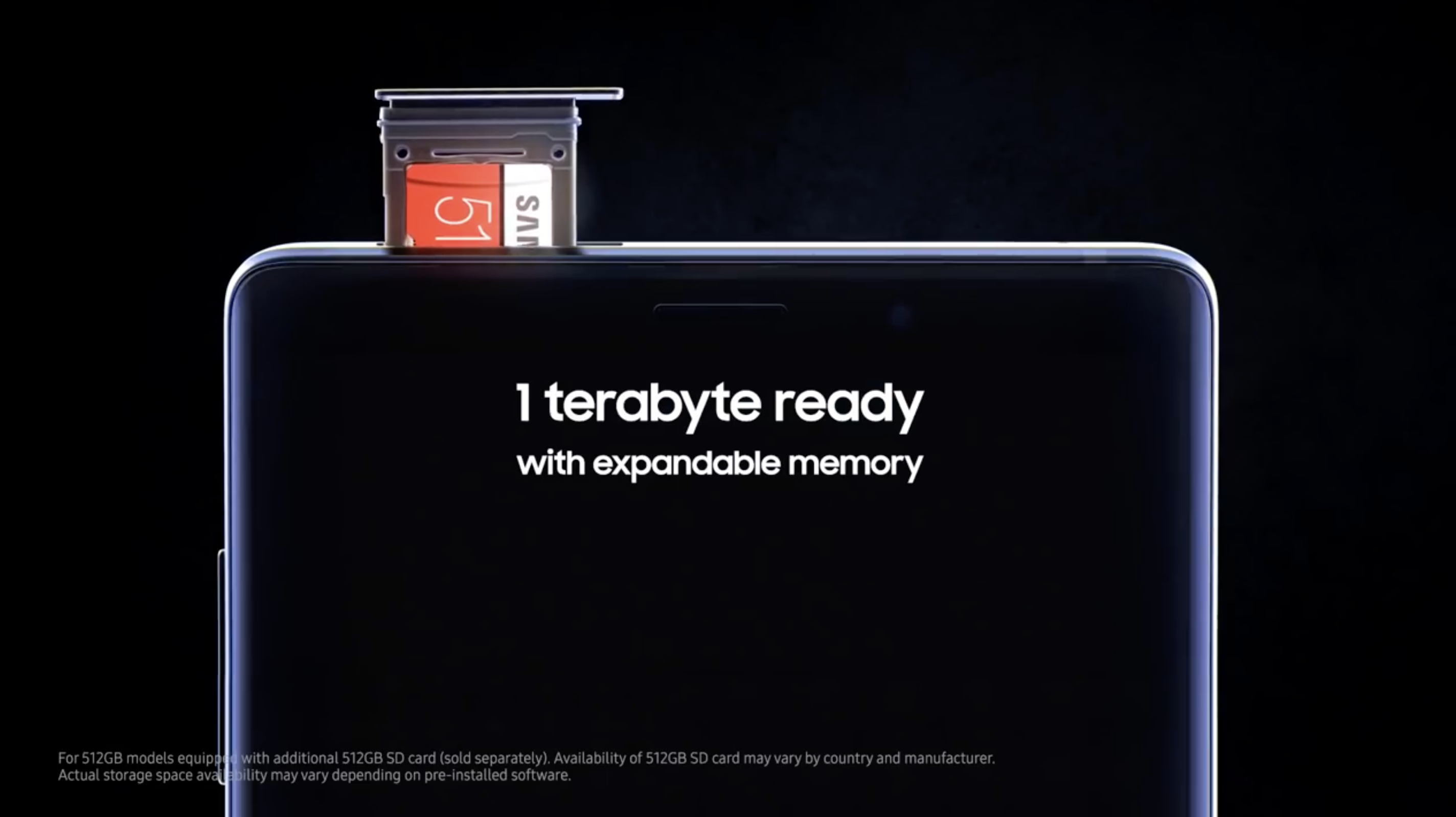 The Network posted a promotional video of the Samsung Galaxy Note 9