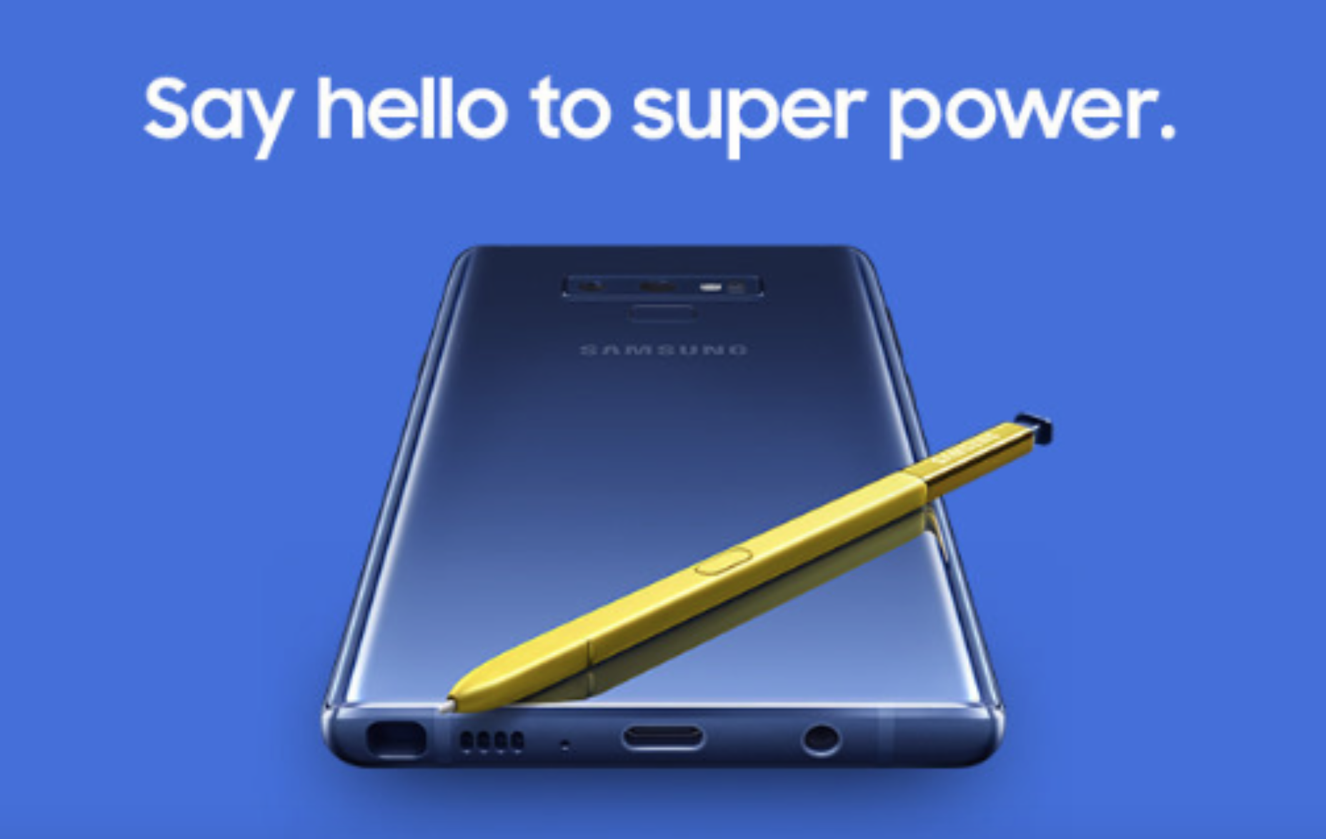 Samsung Galaxy Note 9 Launch
