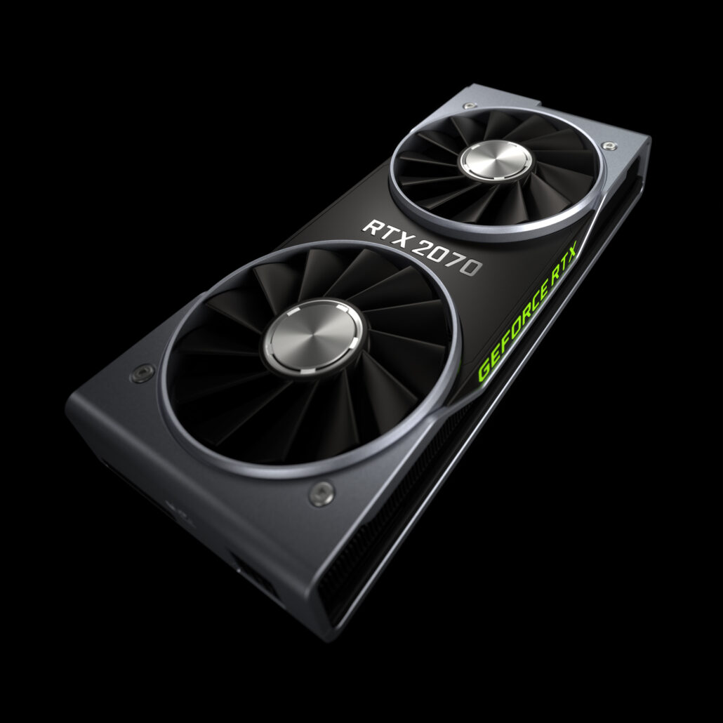 geforce rtx 2070 gallery a 1030x1030 - NVIDIA GeForce RTX 2070 Announced – A $499 US Turing Based Graphics Card With Stellar Gaming Value, 2304 Cores and 8 GB GDDR6 VRAM