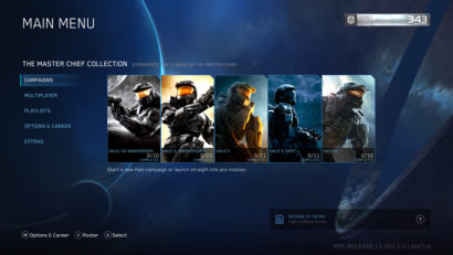 Halo The Master Chief Collection Xbox One X Enhancement