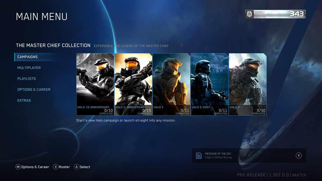 Halo: The Master Chief Collection Xbox One X & Enhancement Update