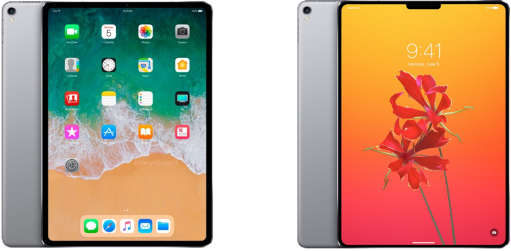 iPad Pro icon iOS 12 slim bezels no home button no notch