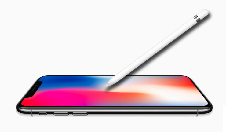 iPhone 2018 no Apple pencil support
