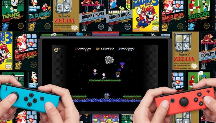 nintendo switch online cloud save nes