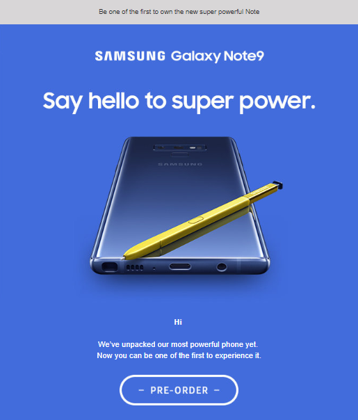 note 9 launch