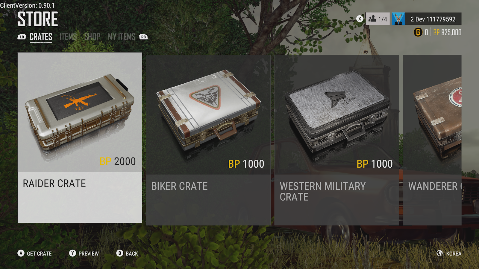 Bluehole Details PUBG Xbox One 1 0 Update G-Coin and Crate System