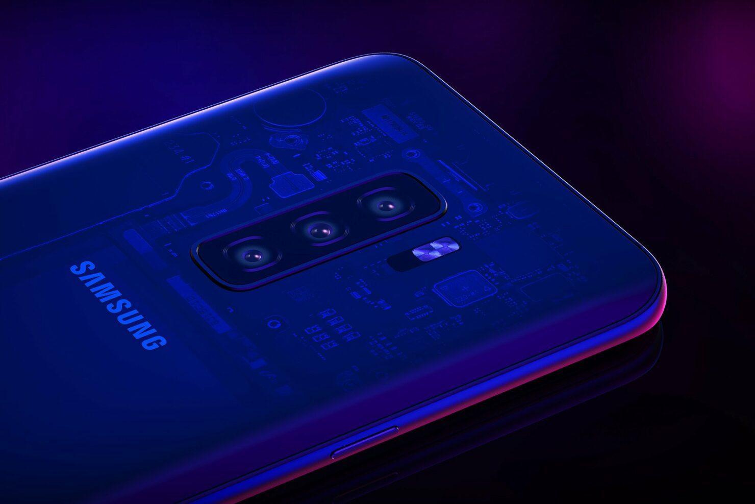 Samsung Galaxy S10 all models in display fingerprint reader
