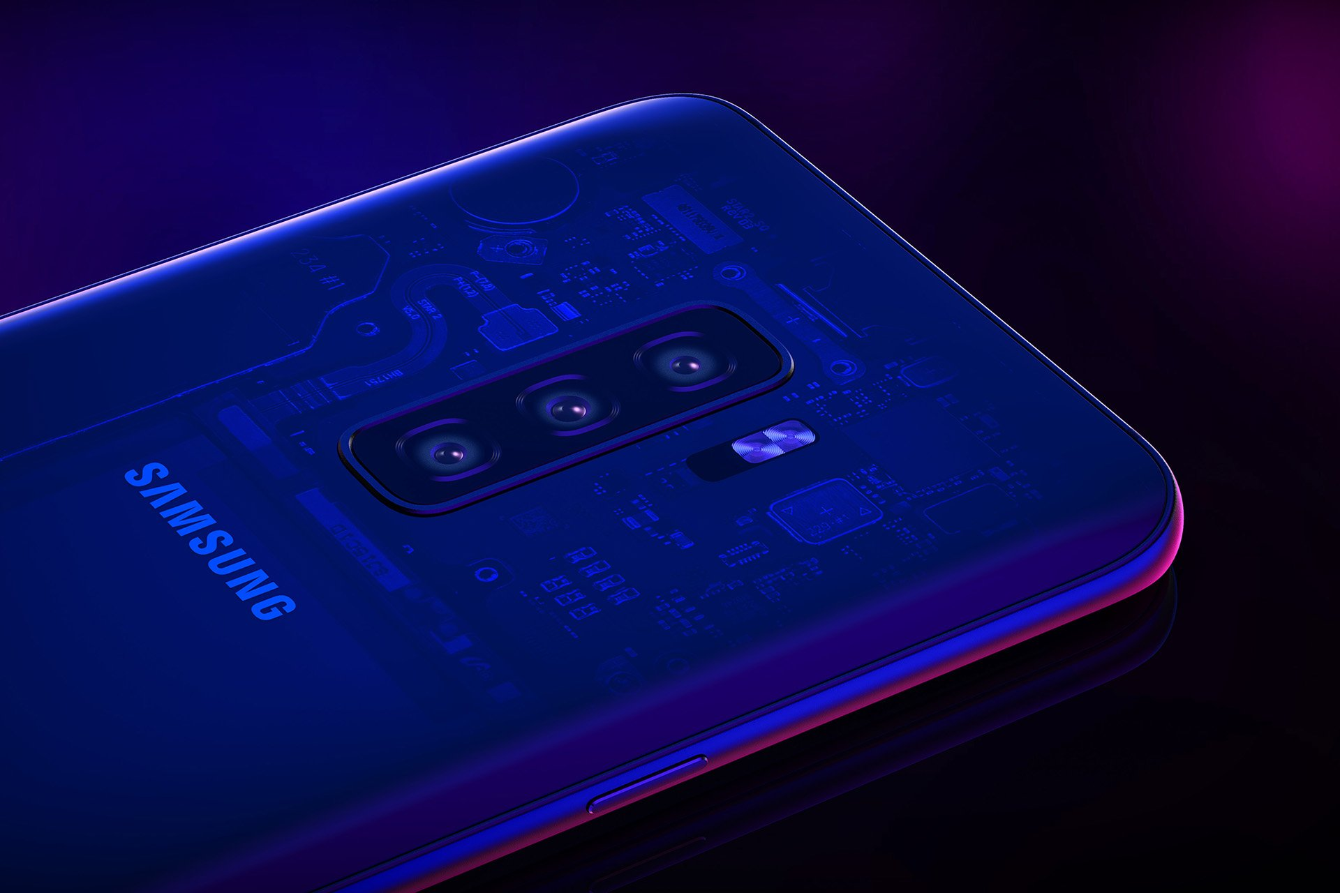 Samsung Galaxy S10 in-Display Fingerprint Reader Is Present in All