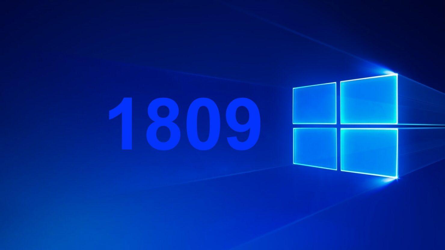 windows 10 1809 bugs download Windows 10 October 2018 Update windows 10 1809