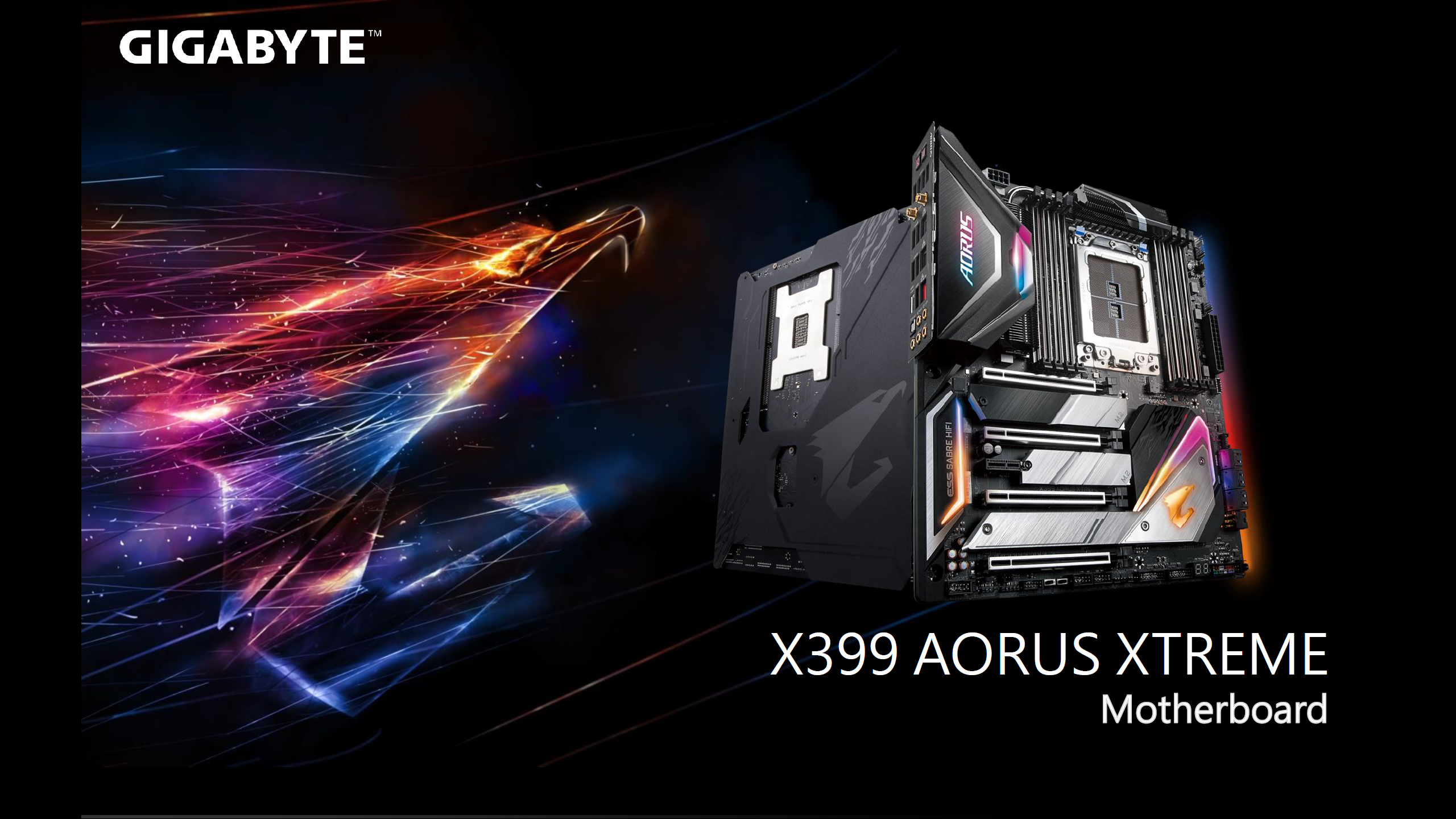 Gigabyte X399 AORUS Xtreme Flagship Motherboard Review