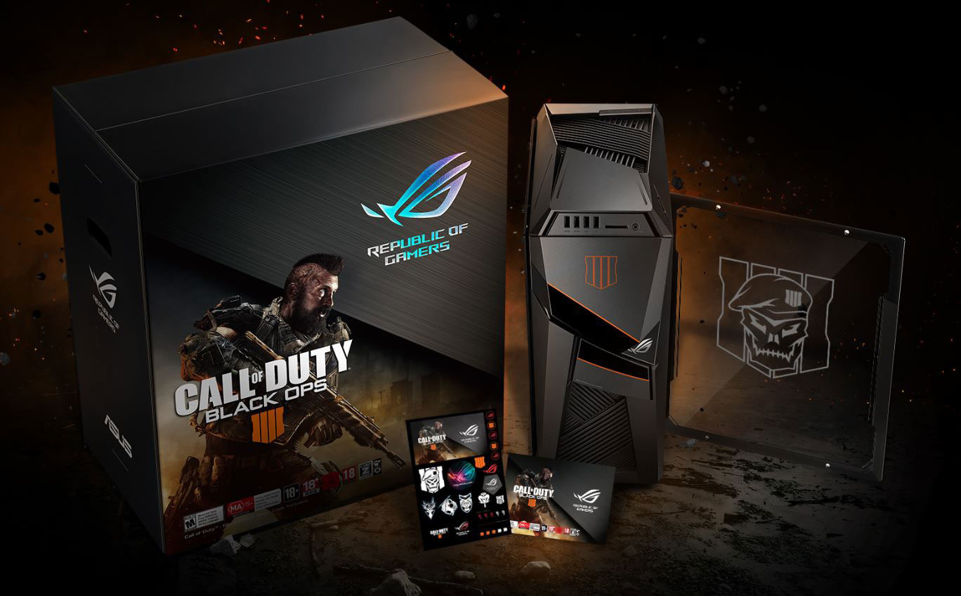 0f417f2a5b8baa ASUS ROG Lists Call of Duty Black Ops 4 Edition Branded Products