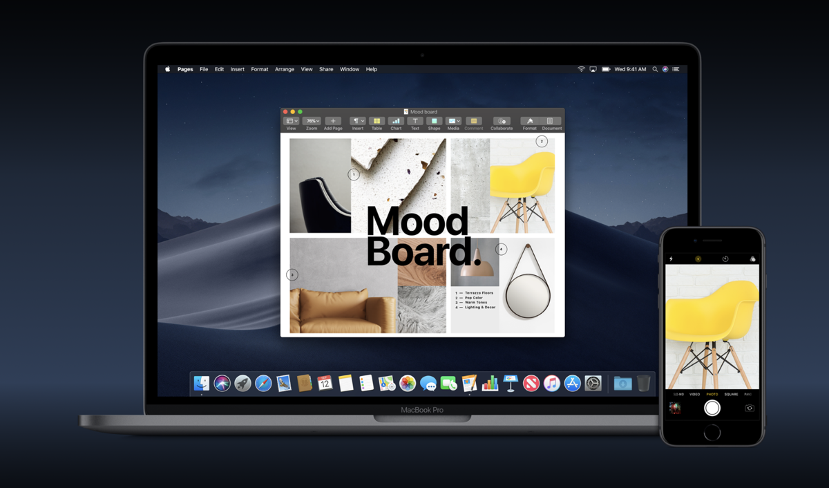 macOS Mojave Lets You Import Photos Straight from iPhone, iPad Camera