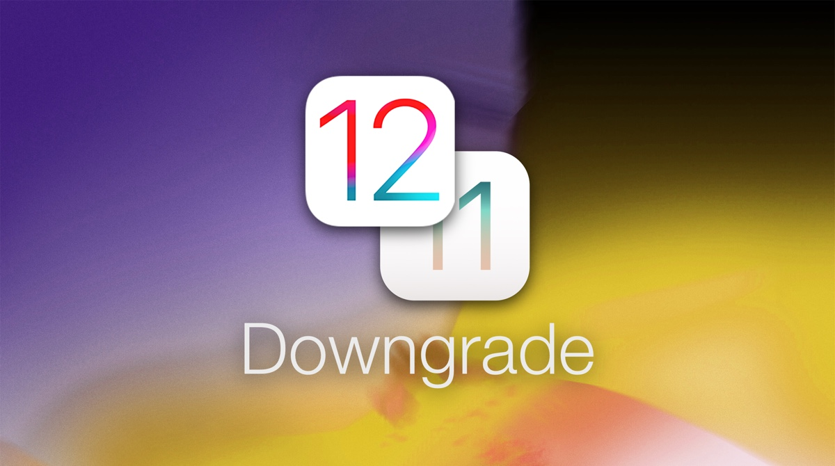downgrade ios 12 gm to ios 11 on iphone ipad or ipod touch tutorial