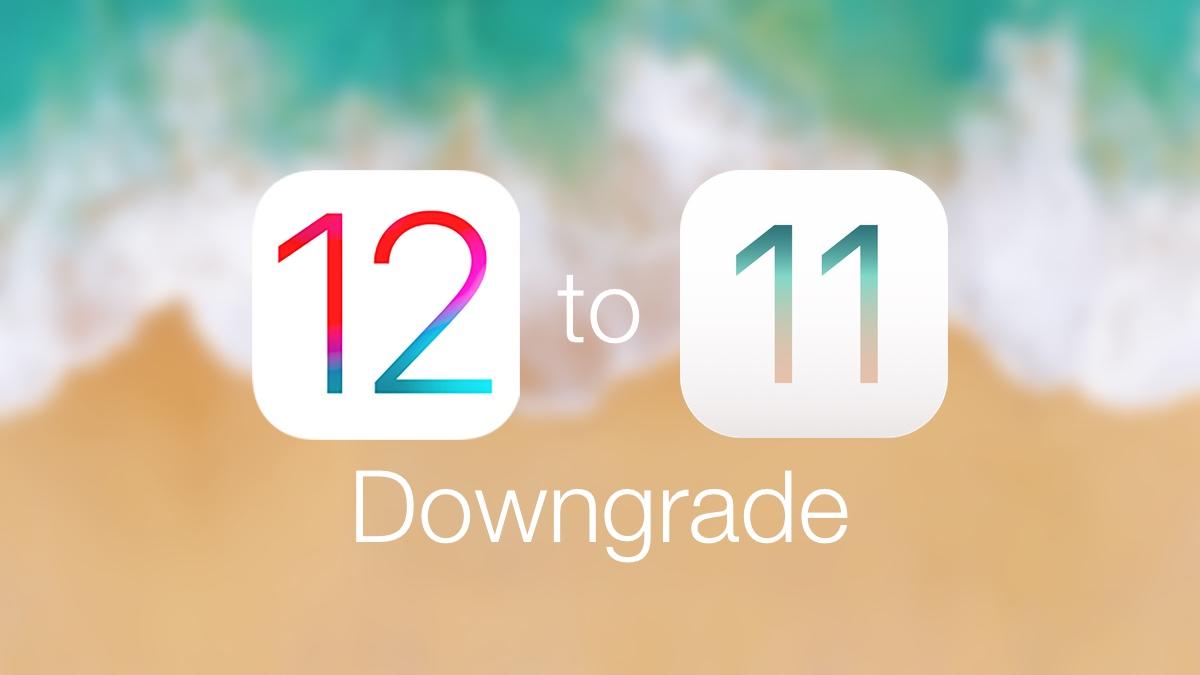 How to Downgrade iOS 12 to iOS 11 4 1 [Tutorial]