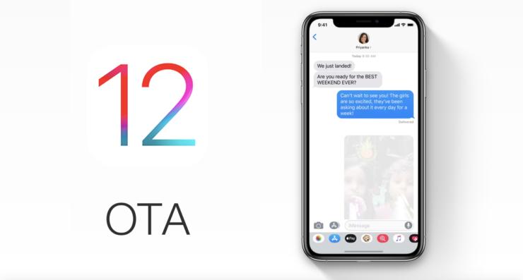 iOS 12 OTA