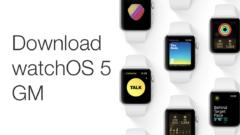 download watchOS 5 GM