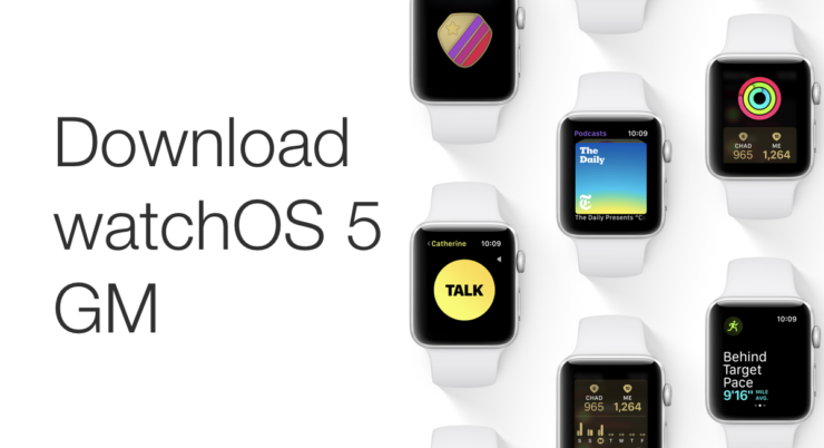 download watchOS 5 GM