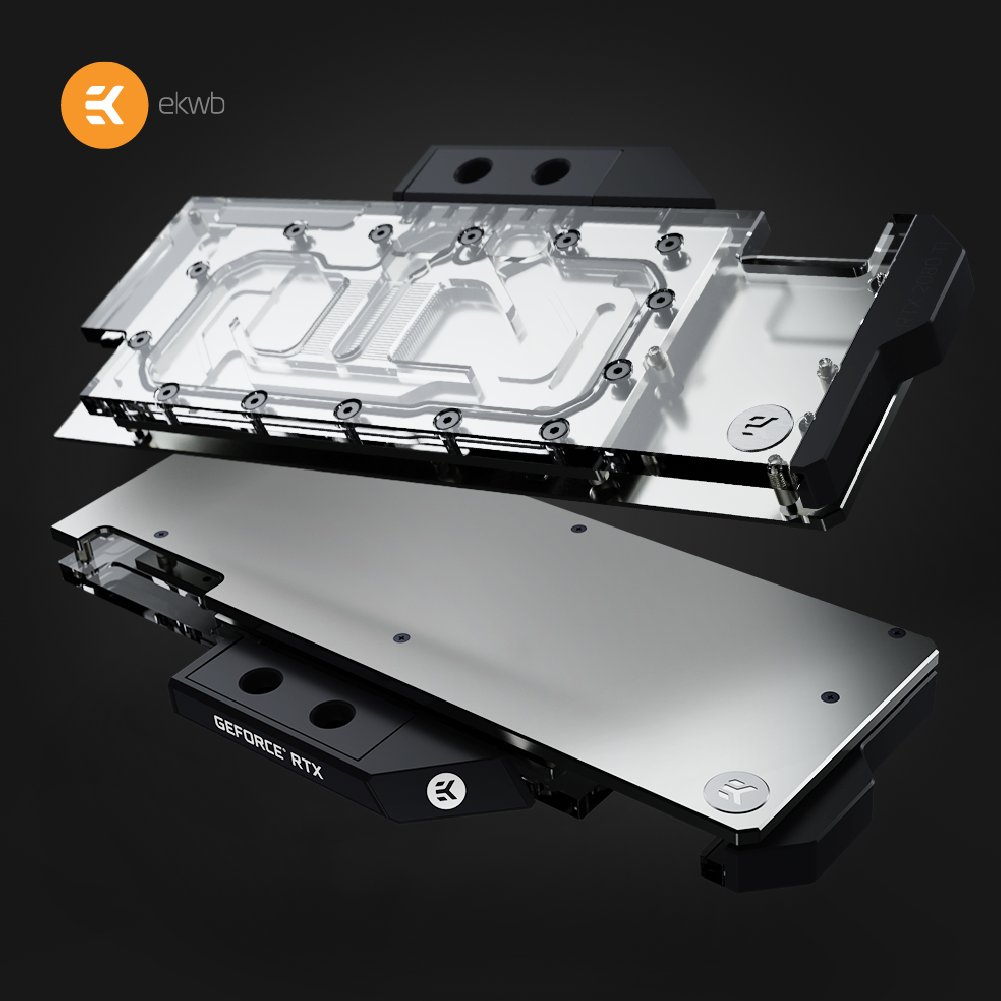 EK Water Blocks Vector RTX 2000 Series - EK-Vector RTX 2000 Series Waterblocks Announced For NVIDIA GeForce RTX 2080 Ti and GeForce RTX 2080 Graphics Cards