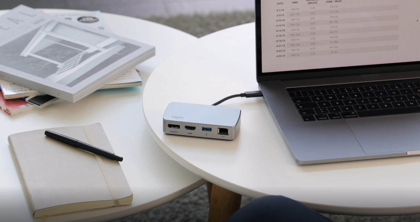 Elgato Announced New Thunderbolt 3 Mini Dock Features