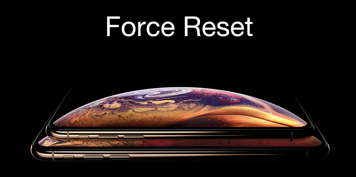 How to Force Reset iPhone XS or iPhone XS Max [Tutorial]