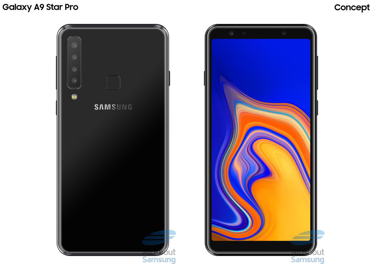 Additional details for the Samsung Galaxy P30 surface - storage and colors
