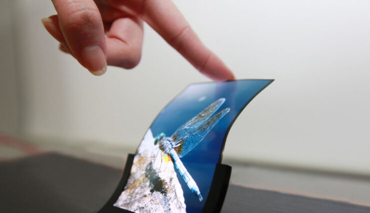 Galaxy F foldable display smartphone unveiled in November
