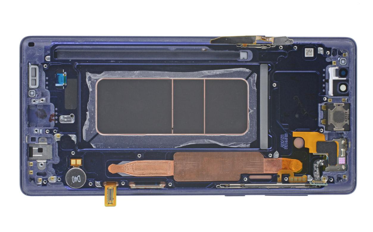 Galaxy Note 9 teardown iFixit
