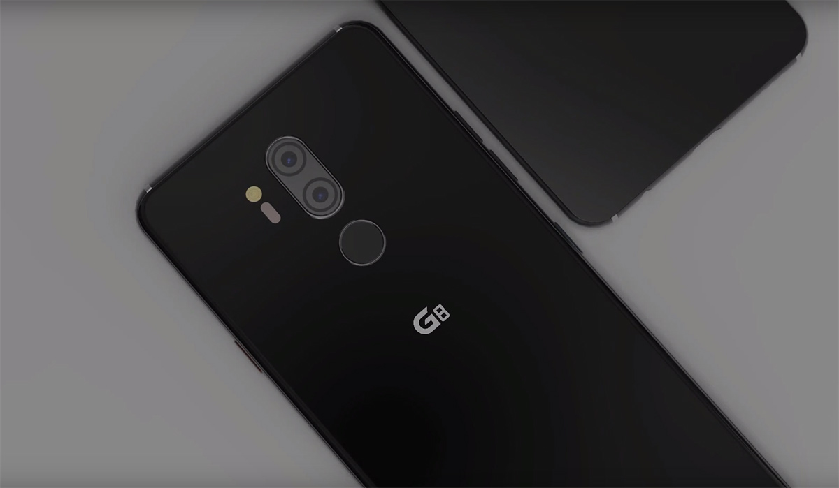 Brand New LG G8 ThinQ Concept Gets the Waterdrop Notch and Forgets
