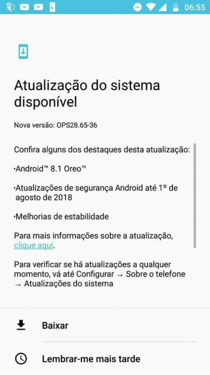 Moto G5S Plus Gets Oreo 8 1 Update in Brazil