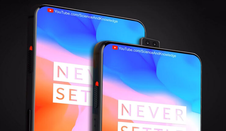 OnePlus 6T alleged image triple camera sensor