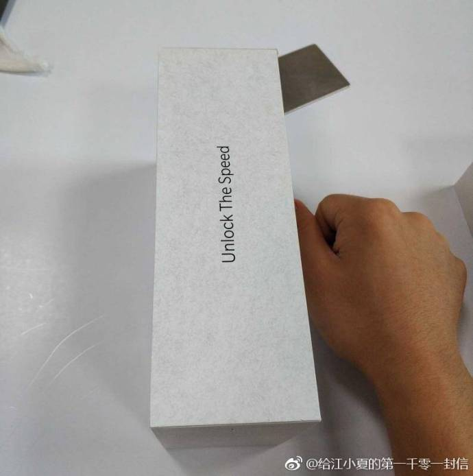 OnePlus 6T box allegedly leaked