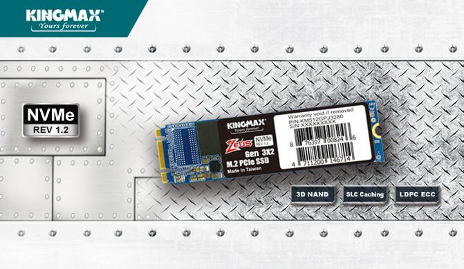 Kingmax Introduces New PJ-3280 M 2 NVMe SSD Aimed At Budget Market