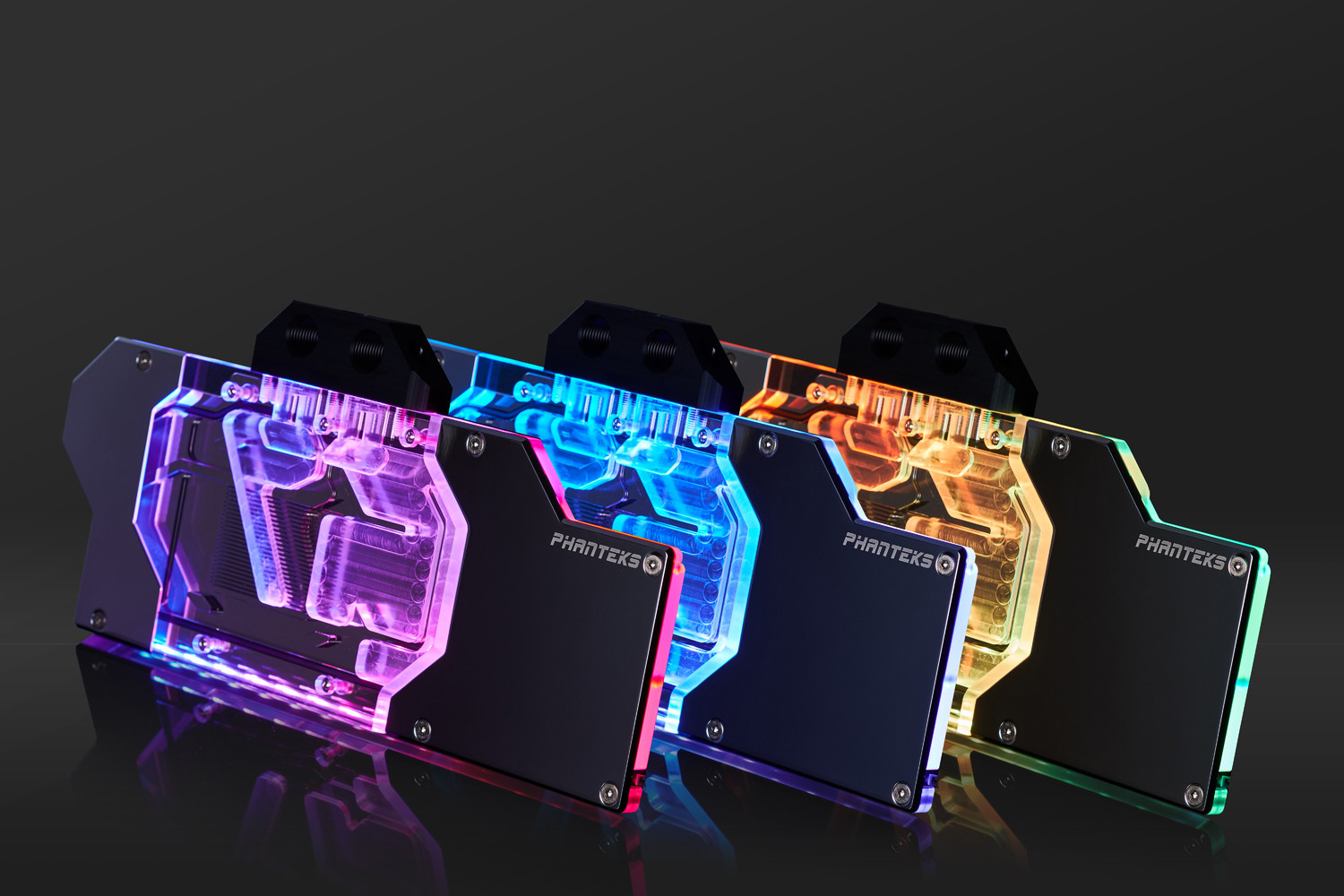 Phanteks Launches Glaicer G2080TI and G2080 Waterblocks for NVIDIA