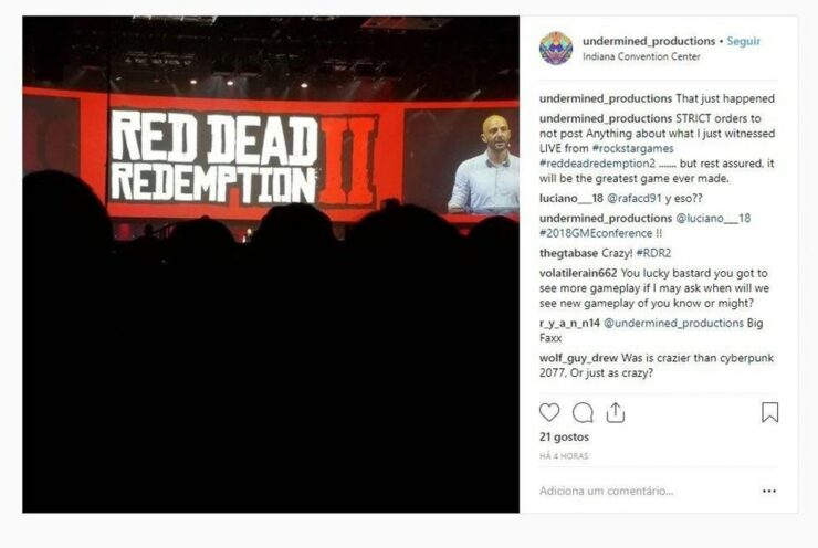 RDR2 Demo Showcased at GameStop Event with Mixed Reactions ...