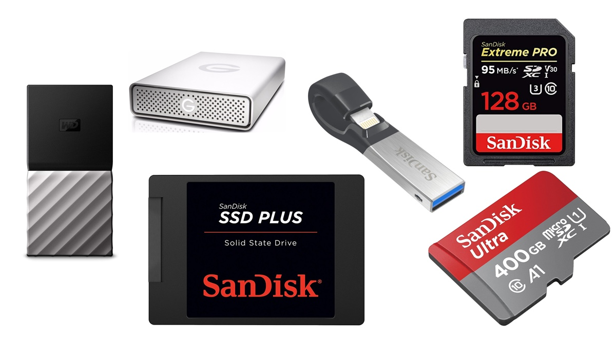 Save up to 65% in SanDisk's One-Day Sale: Includes SSDs