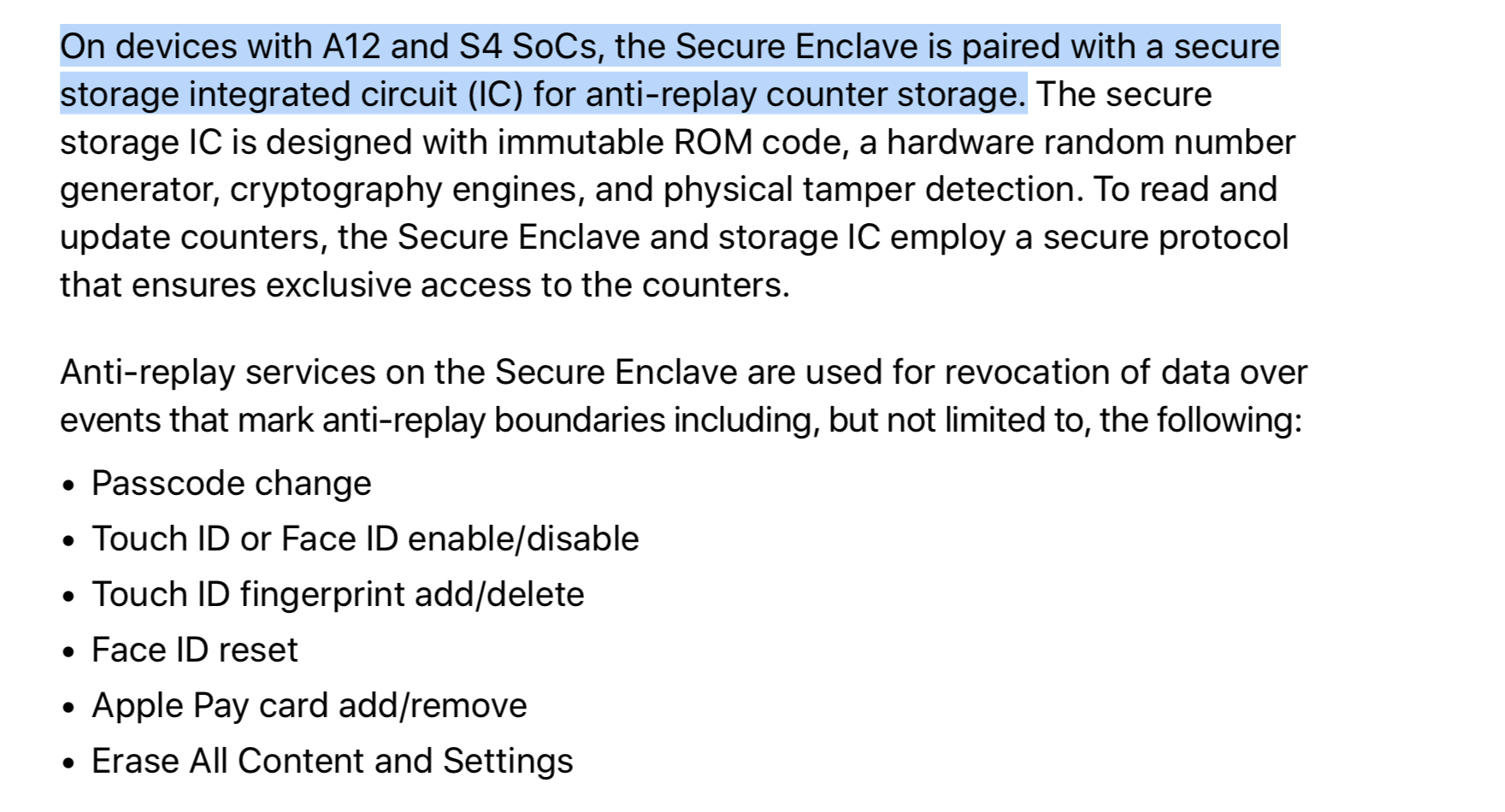 4 New Security Features For Apple A12 And S4 That Weren't Mentioned