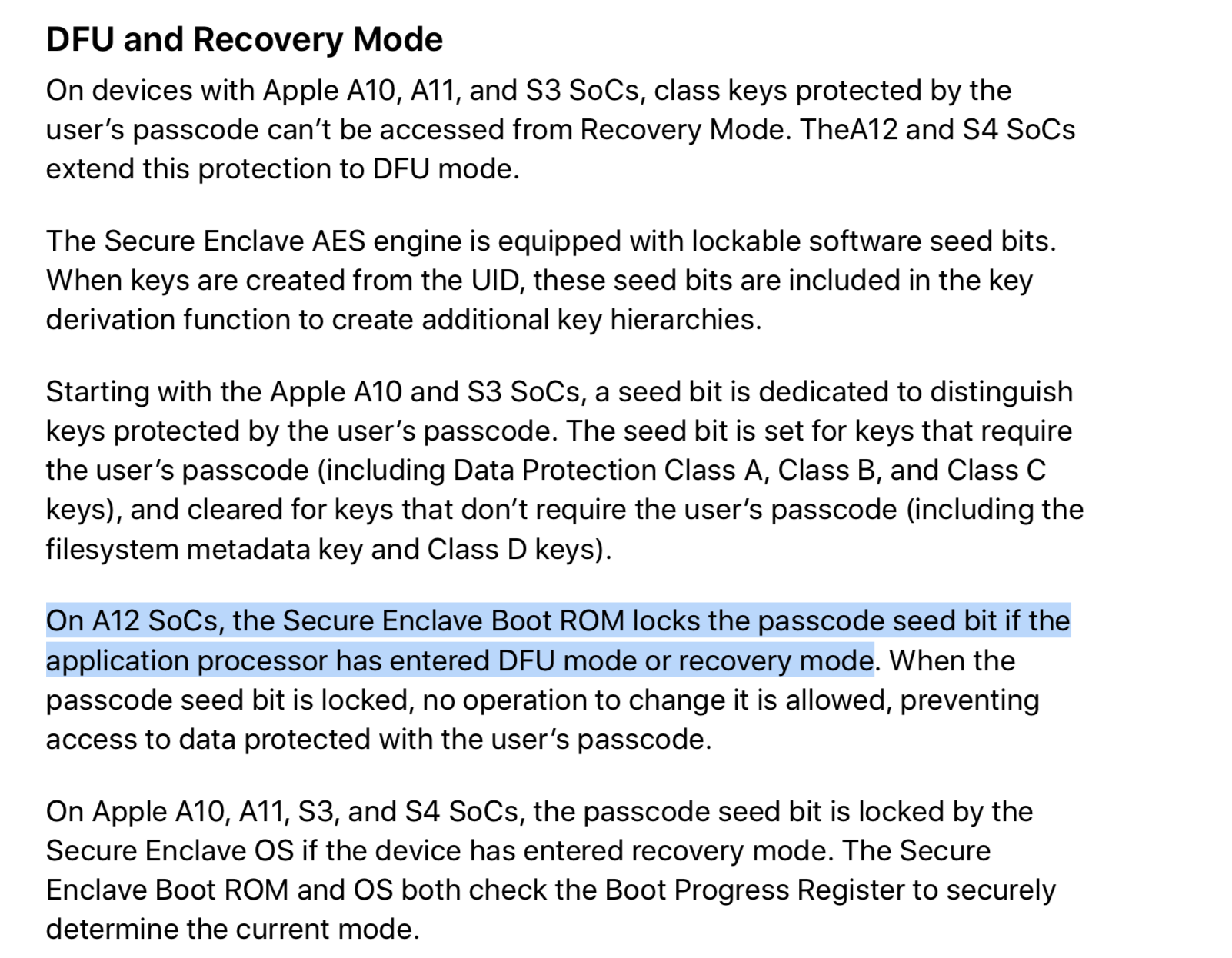 4 New Security Features For Apple A12 And S4 That Weren't